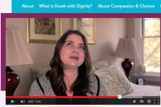 """Brittany Maynard: envidéo, elleannonce soneuthanasie, puis meurt """"paisiblement"""""""