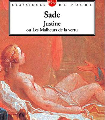 'justine ou les malheurs de la vertu' de sade