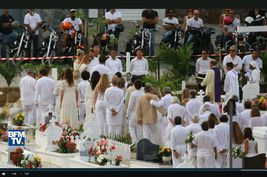 Enterrement de Johnny Hallyday: de rares images des obsèques