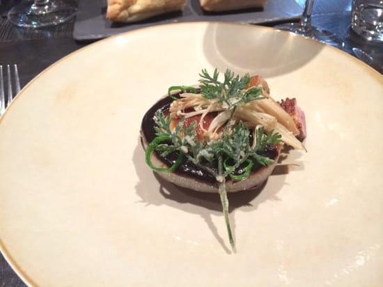 Entrée : Le Concert de Cuisine  - Foie gras poêlé -
