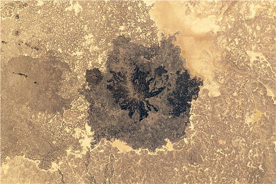 Champ volcanique