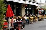 la terrasse du pause café à paris.