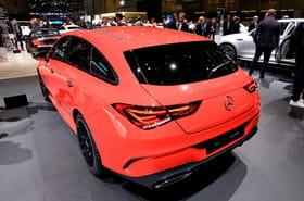 Nouvelle Mercedes CLA: la version Shooting Brake dévoilée [photos]