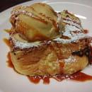 Dessert : Le Bacchus  - Brioche façon pain perdu sauce caramel et sa glace...  -