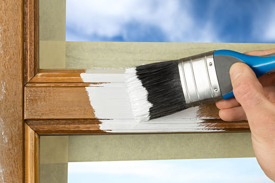 Peindre une fenêtre