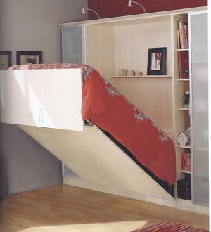 Un lit escamotable lectrique - Lit armoire escamotable electrique ...