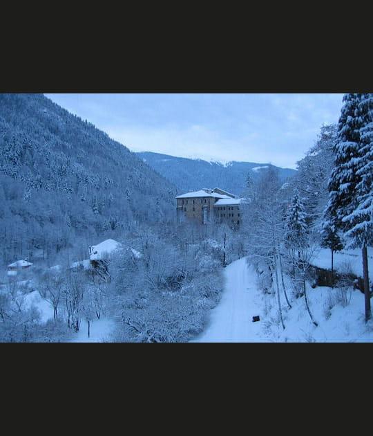 Matin bleu en Bulgarie