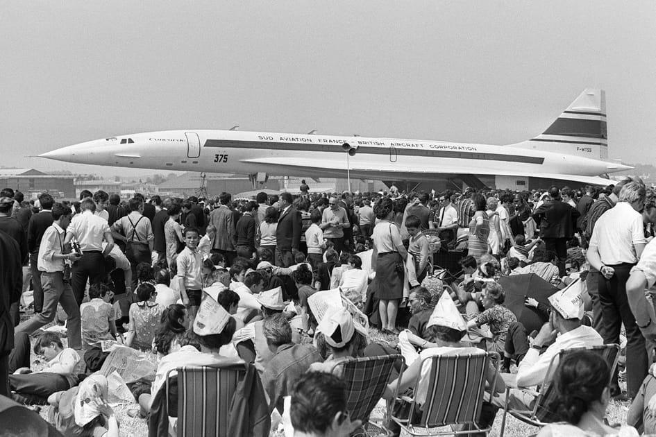 Le prototype Concorde 001en 1969