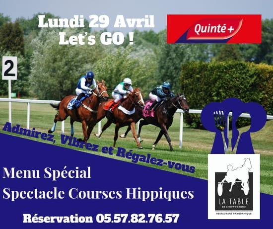 Restaurant : La Table de L'Hippodrome  - COURSES HIPPIQUES -   © OUI