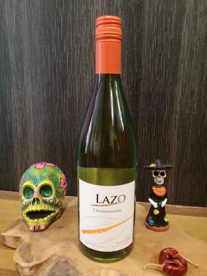 Boisson : Tex A Way  - Vin blanc chilien Lazo Chardonnay -   © #TEXAWAYOFLIFE