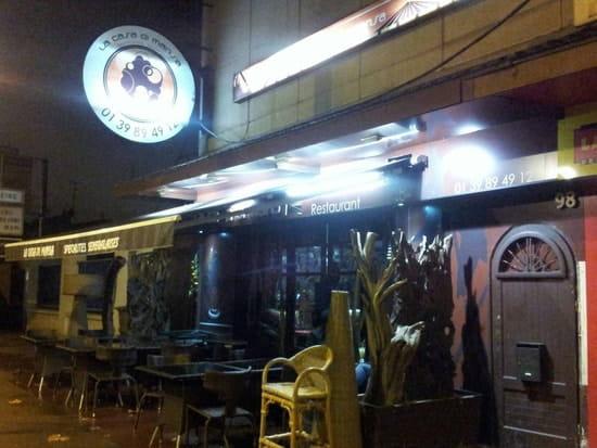 Restaurant : La Casa Di Mansa  - La casa di mansa vue de la rue -