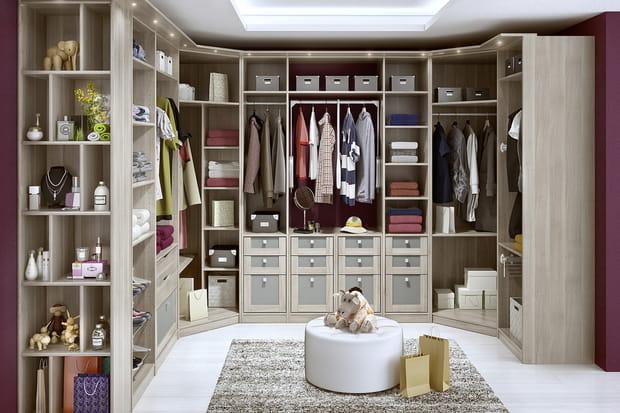 le dressing espace de lapeyre. Black Bedroom Furniture Sets. Home Design Ideas