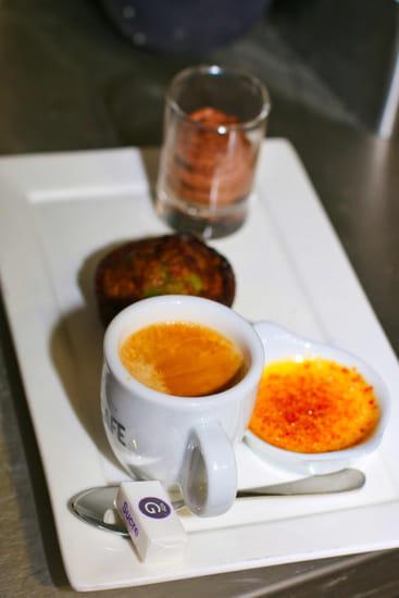 Dessert : Bouchons & Resto  - Café Gourmand -   © Bouchons&Resto
