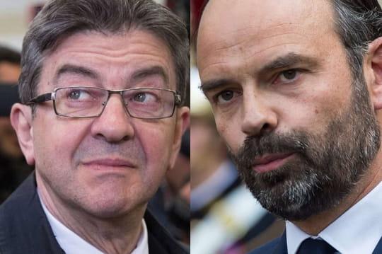 Mélenchon - Philippe: échanges cordiaux sur le plateau de L'Émission politique