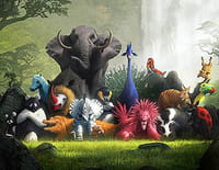 Zafari : La chasse au trésor