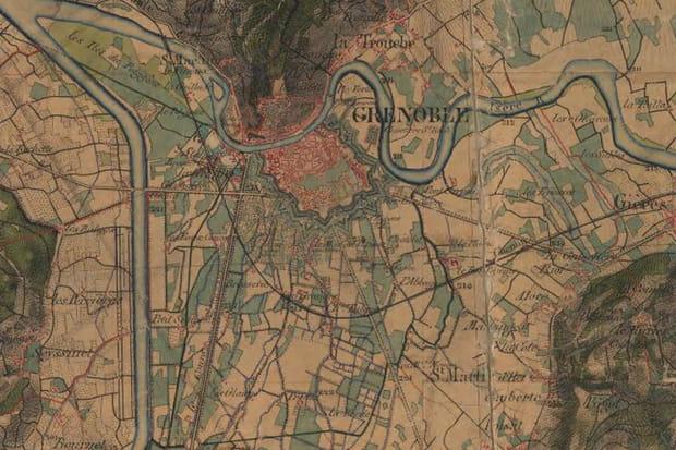 Grenoble, années 1860