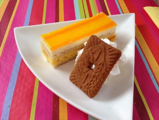 Dessert : L'Assiette Amoureuse  - Entremet mangue passion -