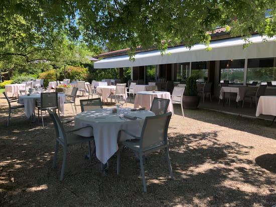 Restaurant : La Fine Fourchette  - Terrasse -   © Extérieur