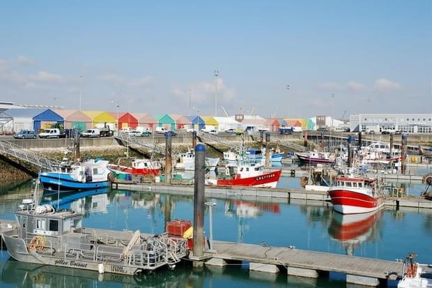 Le port de pêche de la Rochelle