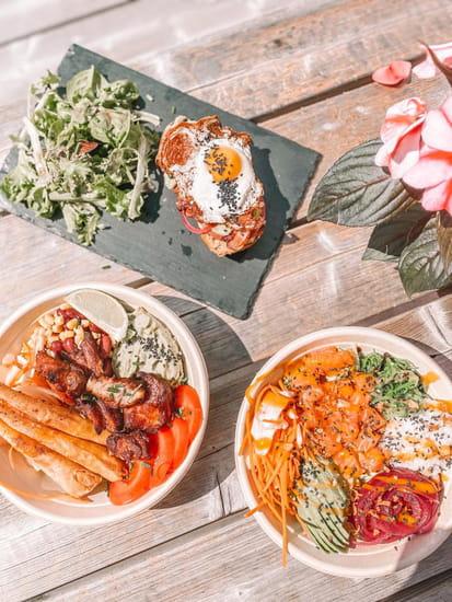 Plat : Healthy Café  - Assortiments de plats -   © Healthy café