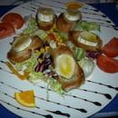 Entrée : Le Somail  - Salade aux chevres chauds -
