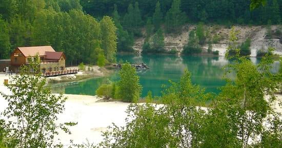 Le Lagon Bleu  - terrasse au bord de l'eau -