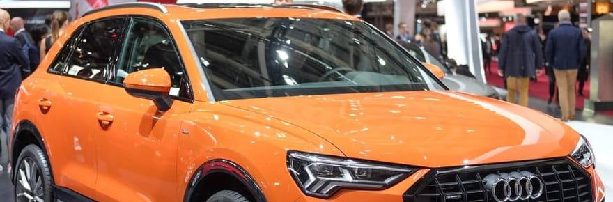 Le nouvel Audi Q3en images au Mondial de l'Auto