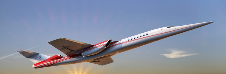 Aerion AS2 : l'avion d'affaires supersonique en images