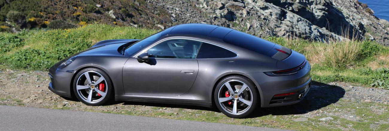 L'essai de la Porsche 911 en images