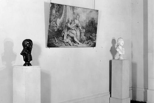 Les peintures et sculptures au Jeu de Paume