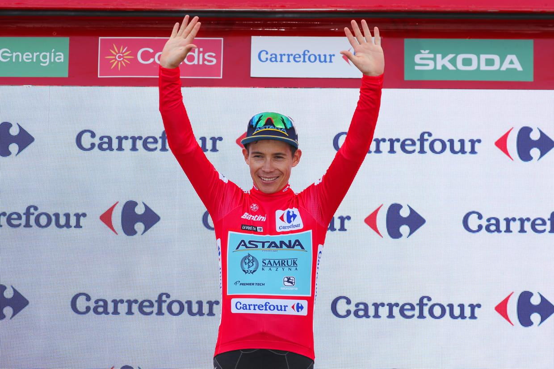 Pogacar gagne au sommet, Quintana en rouge — Tour d'Espagne
