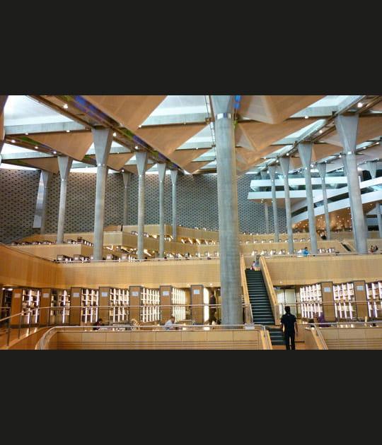La bibliotheca Alexandrina enEgypte