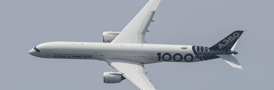L'A350-1000, un Airbus taillé pour faire trembler Boeing