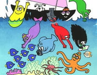 Barbapapa : Le tissage