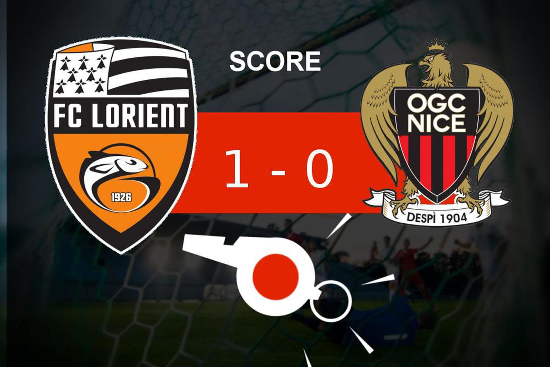 Lorient - Nice: le FC Lorient fait le job (1- 0), le résumé de la rencontre