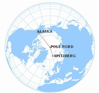 jean-louis etienne devrait se poser en alaska sans plus de précision.