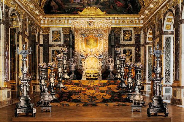 Le Versailles d'argent du Roi Soleil