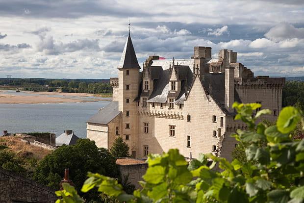 Le château de Montsoreau - musée d'art contemporain
