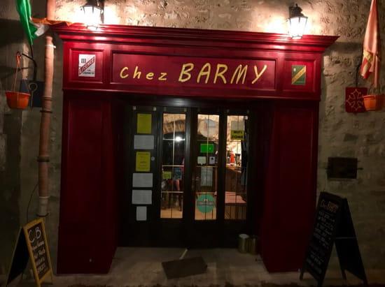 Restaurant : Chez Barmy  - Devanture Bar -