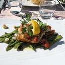 Plat : Les terrasses de l'Opéra  - Filet de sandre et petits légumes poêles  -