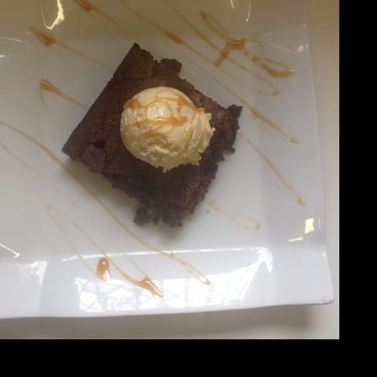 Dessert : Bistrot St. Thomas  - Brownie au chocolat maison -