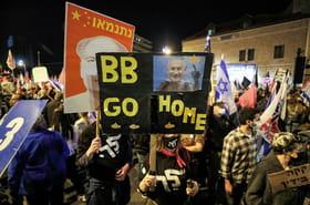 Israël: vaste manifestation anti-Netanyahu à trois jours des élections