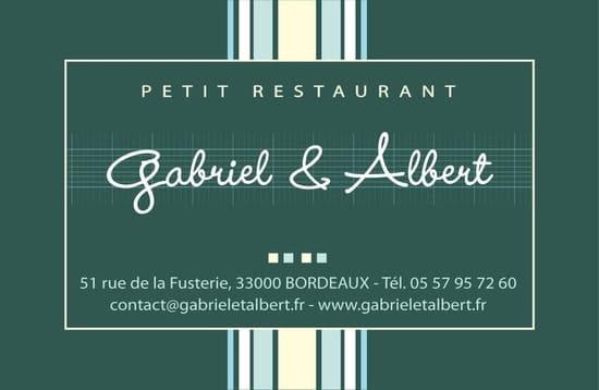 Gabriel et Albert