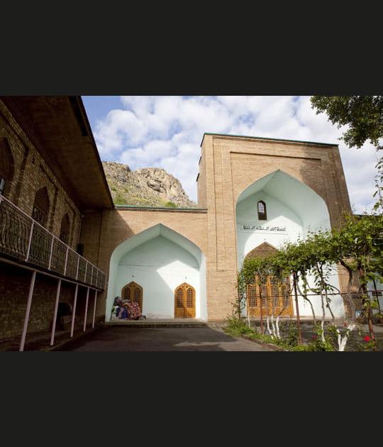 Montagne sacrée de Sulamain-Too auKirghizstan