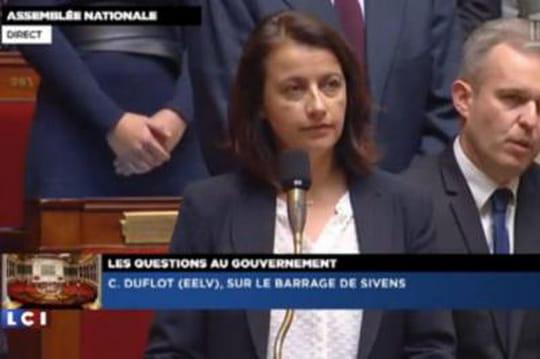 Cécile Duflot: pas deminute desilence pourRemi Fraisse [VIDÉO]