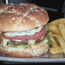 Plat : Le Brasier  - Burger Fait Maison -   © Le Brasier