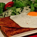 Crêperie de la Cathédrale  - La galette Oeuf, jambon, fromage -