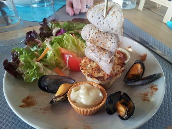 Entrée : Le Bout'dl'ile  - Terrine de poisson -