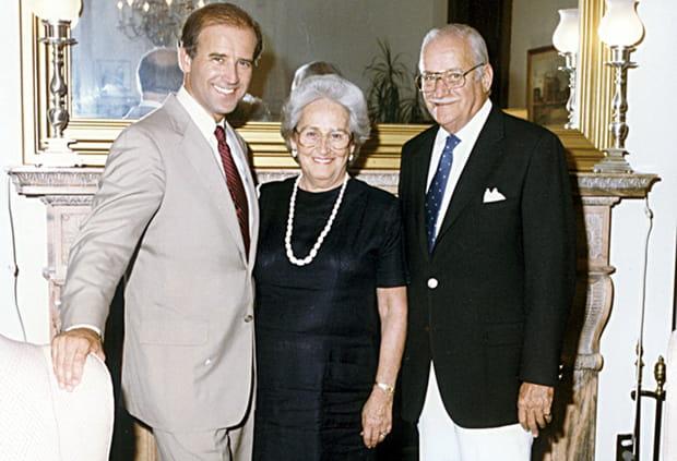 Joseph et Catherine Biden, ses parents