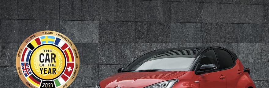 Toyota Yaris: consacrée voiture de l'année 2021! Prix, photos, toutes les infos